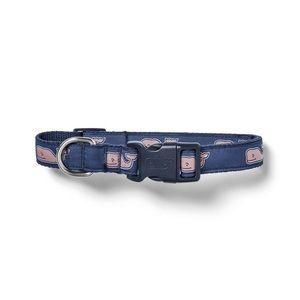 NWT Vineyard Vines for Target Navy Dog Collar (M)